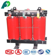 copper dry type power transformer