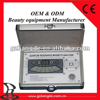 Newest third generation high accuracy quantum magnetic resonance analyzer BD-R011