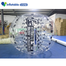 Factory price colorful dotted loopy ball/bumper bubble ball, bubble soccer suits , bumperz ball