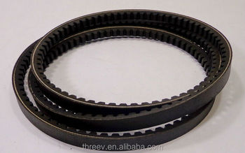 Raw edge v belt , Rubber v belt