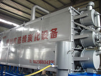 Carbonization furnace kiln for sawdust and rice husk carbonization
