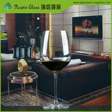 625ml Glassware Manufacturers Custom Handmade Glass clear red wine glass cup drinking