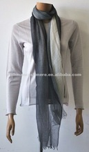 Women Stripped Printed Cashmere Scarf, Soft, Thin and Wonderful hand-feeling
