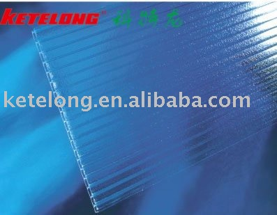 Polycarbonate Crystal Hollow Sheet