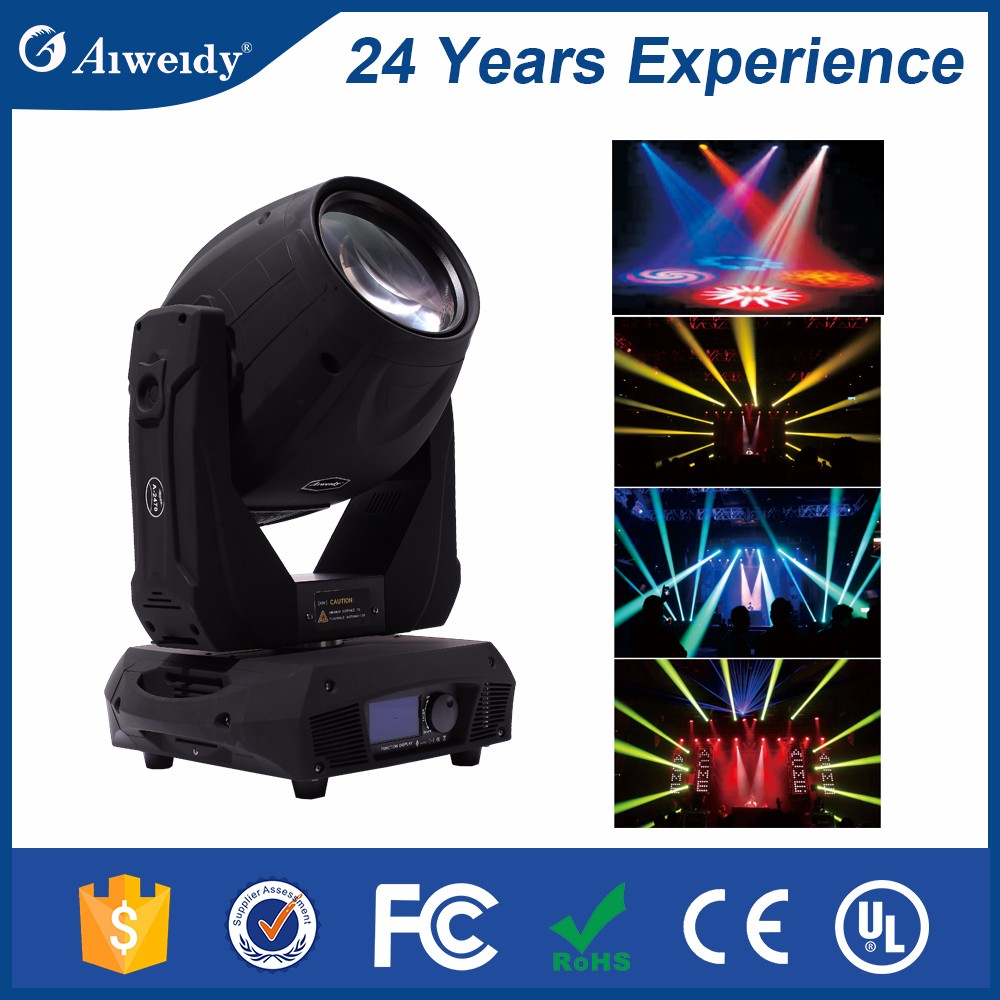 New technology products A-2470BS anti-static moving head led 17r beam spot wash 3 in 1 350w moving head light