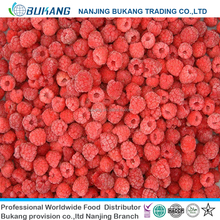 hot sale bulk IQF seedless frozen raspberry with good price