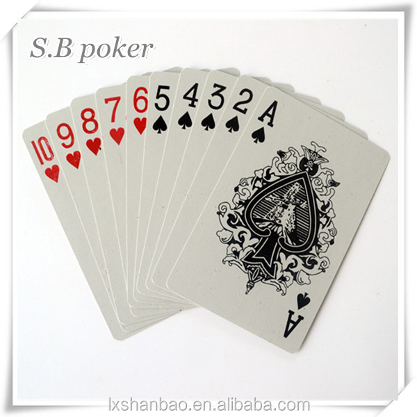 SB-DD-D 24k gold playing cards