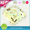 BSCI SEDEX Certificate Factory Free Sample Chevron Minky Baby Blanket Animal Print Sport Fleece Blanket