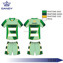 latest dry fit custom sublimation soccer jersey uniform with design