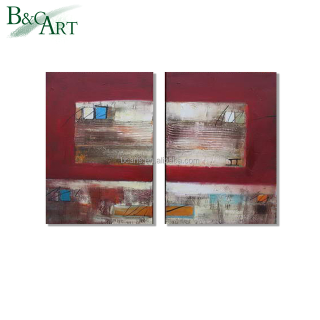 modern art painting examples Family living room bedroom wall decoration pure hand-painted abstract art pictures Dafen Oil Paint