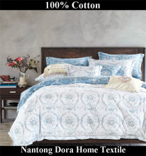 8pcs cotton comforter set bed in a bag