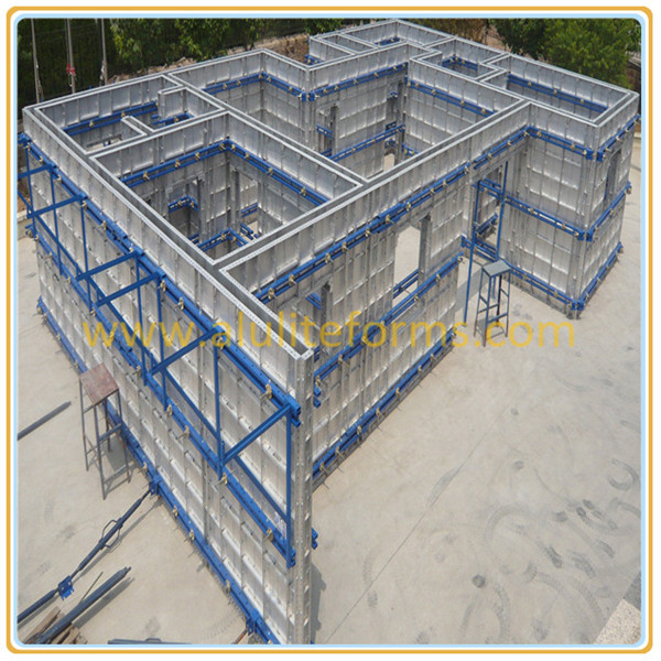 Easily Creat All Concrete Homes Formwork/Shuttering