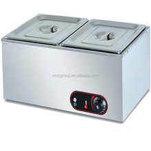 electric stainless steel table top bain marie/commercial food warmer EH-2