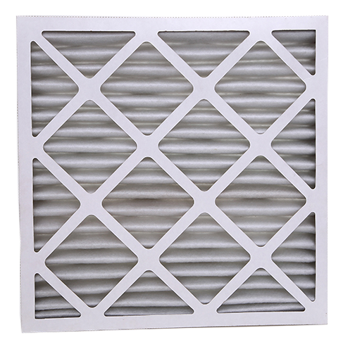 high strength paper pleated cardboard frame Air Filter for pre filtration