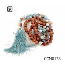 bead fringe necklace customised necklace&bracelet set alloy jewelry beads pendant scarf necklace