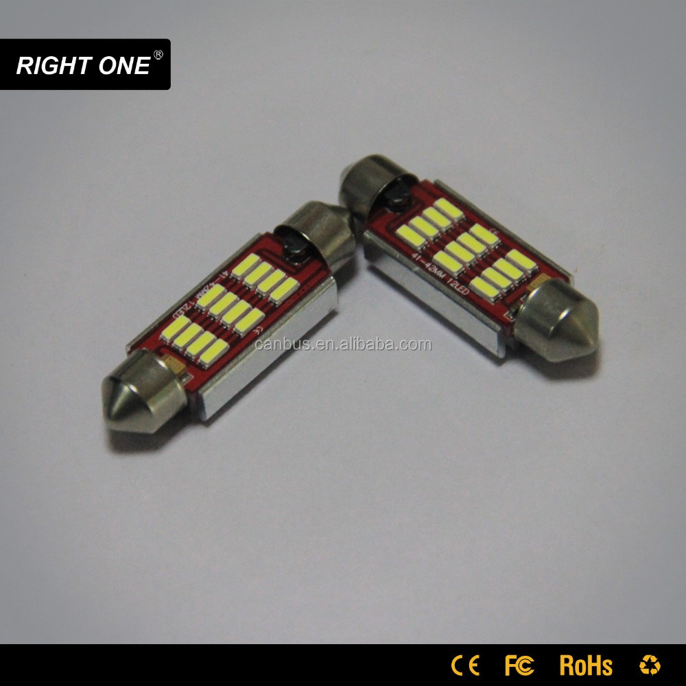 wholesale 31mm 36mm 37mm 38mm 39mm 41mm 42mm 44mm 12v-30v festoon car led Trunk Lights