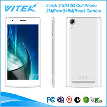 Alibaba China Cheapest Dual Core 2 SIM 3G Android Cell Phones For Sale