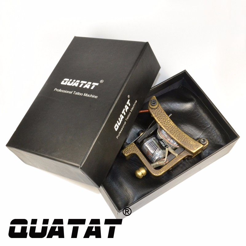 QUATAT Tattoo Artist handmade Professional Tattoo Machine shader excellent quality