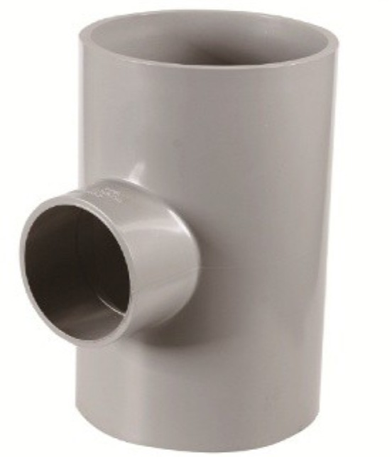High pressure resistance unequal PVC Tee
