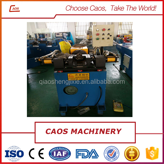 Pipe grooving machine/tube pipe swaging machine/metal pipe processing machine from Caos Machinery