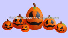 360cmH/12ft Halloween inflatable black pumpkins