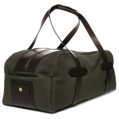 eco-friendly durable canvas travel bag