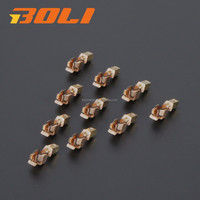 Electrical sockets switches sheet brass copper electric metal stamping part from Zhongshan