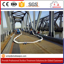 High Qulity, Low price steel bridge deck derusting shot blasting machine