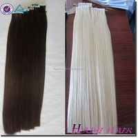 Wholesale Alli Express Top Grade Quality Human Hair Cheap Remy Skin Weft Extension