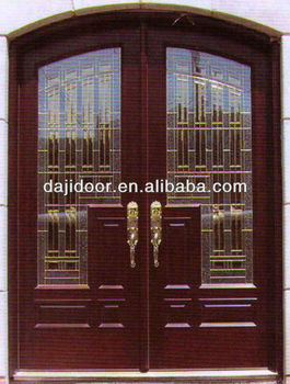 arched double restaurant entry doors glass insert dj. Black Bedroom Furniture Sets. Home Design Ideas