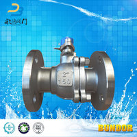 150LB High Quality Stainless Steel DN40-DN600 Flanged Ball Valve