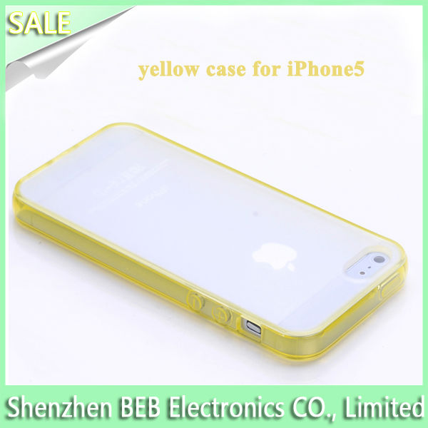 The cheapest tpu bumper case for iphone 5 from China's reliable supplier