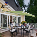 Free sample motorized retractable awnings cloth metal window gold supplier
