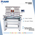 FUWEI long working life automatic 2 heads embroidery machine with dahao system of big sale