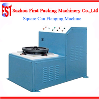 Tin Can Flanging Machine for Square Luncheon Meat Can Production Line