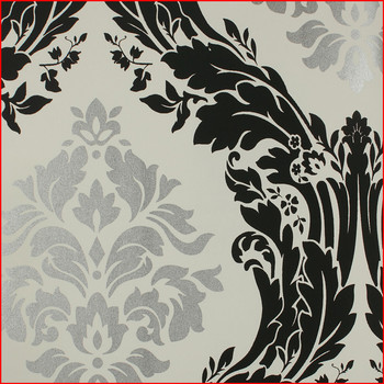 Elegant & Classic Damask Exquisite Design Non-woven Designer wallpaper