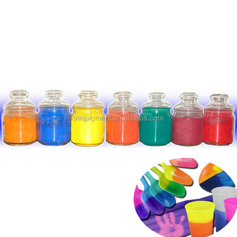 Thermochromic Pigment Powder for Coating, PVC/ABS Plastic Paints