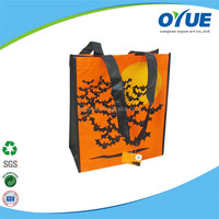 Excellent quality low price supply logo collapsible shopping bag