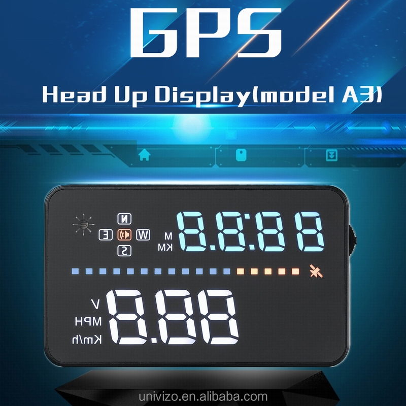 "2016 Factory Promotional 3.5"" Head Up Display HUD GPS Car Windscreen Projector"