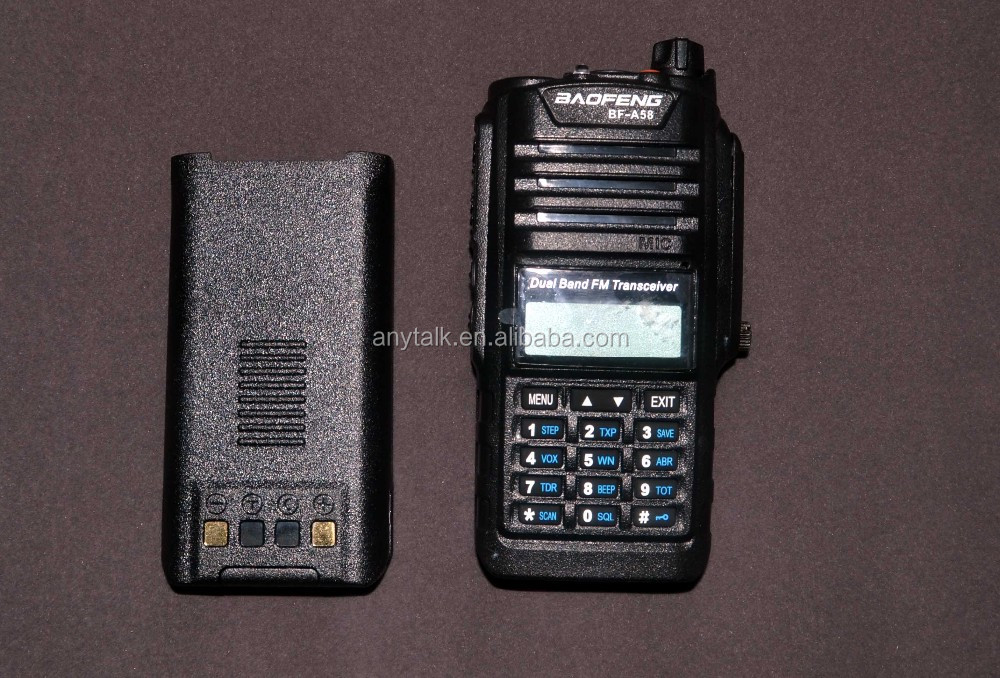 Baofeng BF-A58 128CH 136-174MHZ & 400-520MHZ IP57 Waterproof Dustproof Dual band two way radio