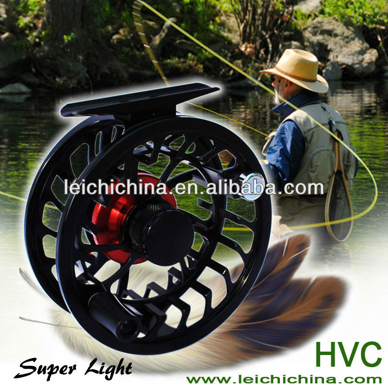 semi-waterproof fly fishing reel CNC fly reel manufacturer