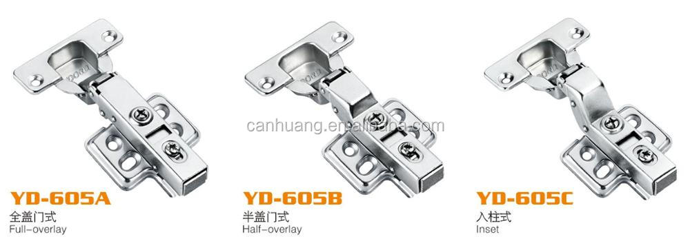 hot selling high quality conceal hinge soft closing hinge clip on style