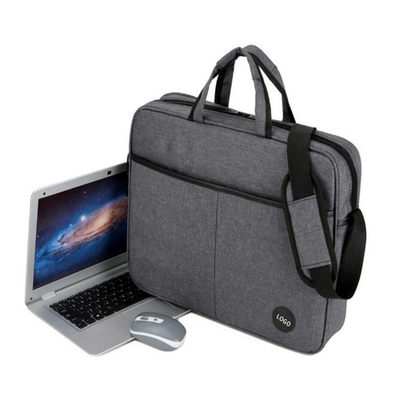15.6 Trolley Business Laptop Briefcase Tote Bag with Shoulder Strap