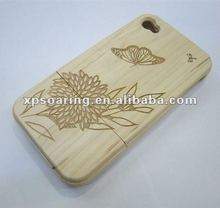 real wood grave case cover for iphone 4g 4s