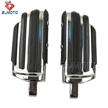 Wholesale Price Billet Aluminum Motorcycle Foot Pegs For Harley Male Mount-style Footpeg Supports