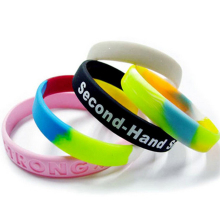Custom Promotional Gifts Silicone Bracelet, Cheap Wristbands