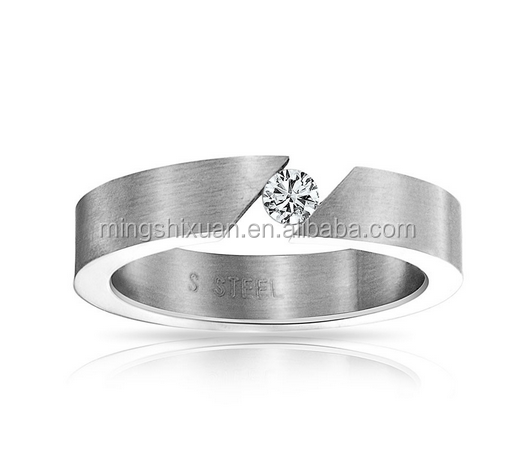 USA Free shipping! Sleek and cool rings for everyone Minimalistic yet bold stainless steel SO INTO YOU BAND MSXCC021
