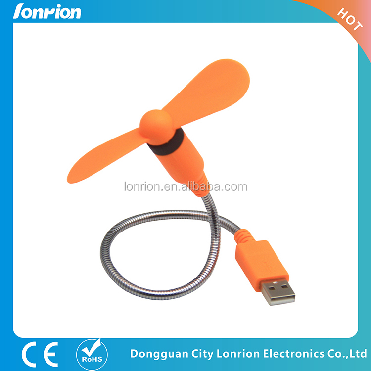Mini USB S-Shaped handy Fan, mini 5v low power consumption cooling fan