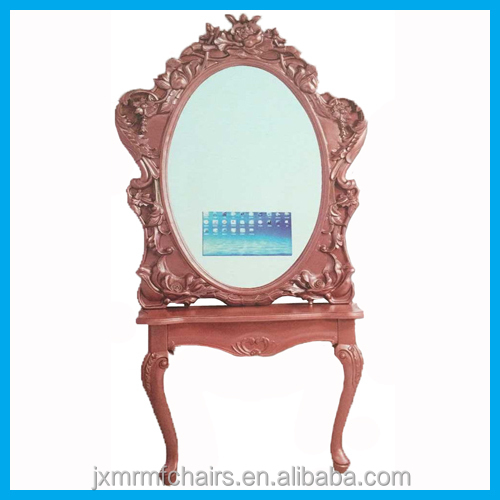 Beauty salon styling mirror station with TV for sale JX804BX