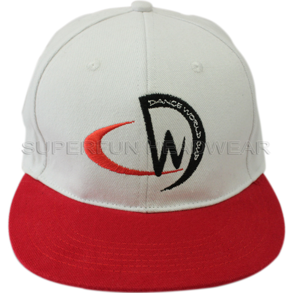 fashion embroidery 100% cotton simple snapback cap